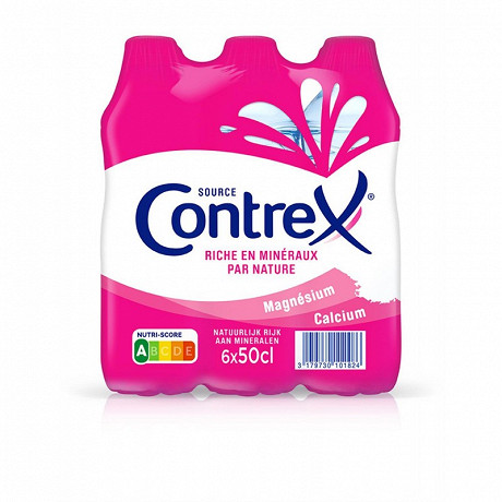 Contrex eau minérale naturelle 6x50cl