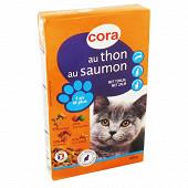 Cora croquettes chat saumon adulte 400g