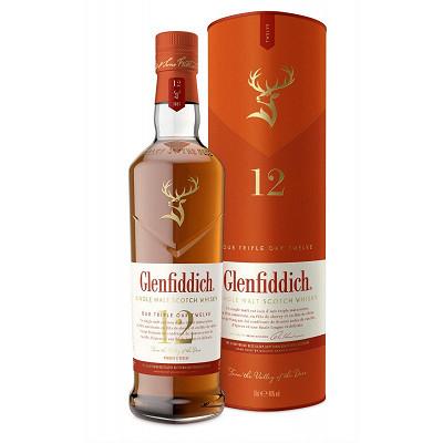 Glenfiddich Glenfiddich triple oak whisky 12 ans sous étui 70cl 40%vol