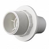 Prodelect douille e14 thermoplastique sb blanc
