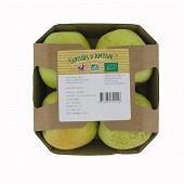 Pomme bio golden barquette 4 fruits