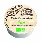Petit camenbert bio 150g traditions de normandie