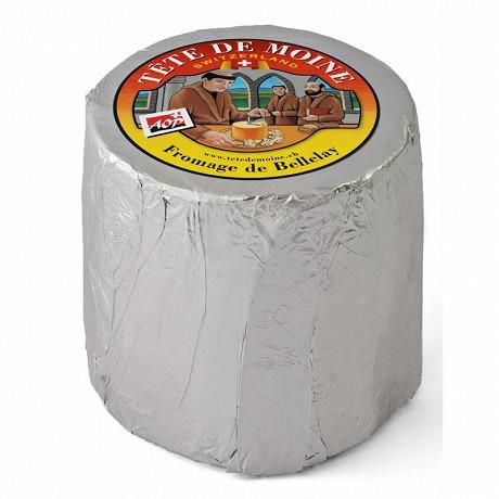 Tête de moine sous aluminium  aop suisse  lait de vache