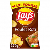 Lay's chips poulet maxi format 370g
