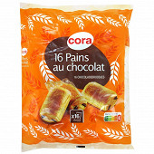 Cora 16 pains au chocolat  720g