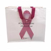 Sac de caisse au profit de la lutte contre le cancer du sein