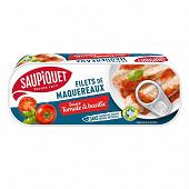 Saupiquet Filets maquereaux sauce tomate et basilic 169g