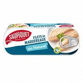Saupiquet filets de maquereaux au naturel 169g (1/4)