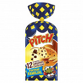 Brioche Pasquier pitch pépites chocolat x12 soit 450g