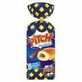 Pasquier Pitch choco'barre lait x 8 soit 310 g
