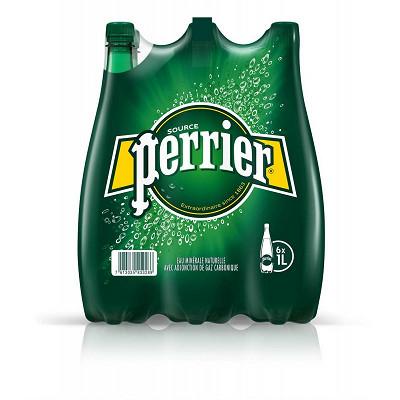 Perrier Perrier eau minérale naturelle gazeuse 6x1L