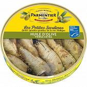 Parmentier petites sardines MSC huile d'olive vierge extra 106g