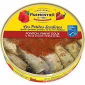 Parmentier petites sardines MSC poivrons piment doux 106g