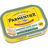 Parmentier sardines sans huile gingembre coriandre 135g