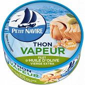 Petit Navire thon vapeur huile olive 130g