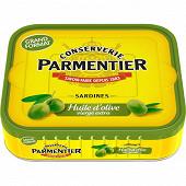 Parmentier sardines huile d'olive hyacinthe 1/3 232g