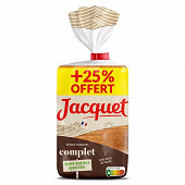 Jacquet maxi tranches complet sans sucres ajoutés 550g + 25% offert