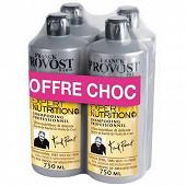 Franck Provost shampooing expert nutrition plus 4x750ml