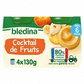 Bledina pots cocktail de fruits 4x130g
