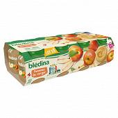 Bledina pots pommes du verger 8x130g