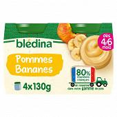 Bledina petit pot pommes bananes 4x130g