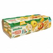 Bledina pots cocktail de fruits 8x130g
