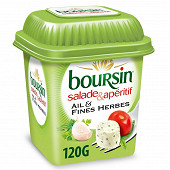 Boursin salade & apéritif ail et fines herbes 120 g