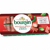 Boursin apéritif roulés au speck tomates basilic x20 - 100g