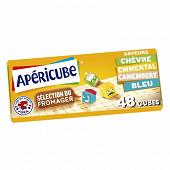 Apéricube sélection du fromager 48 cubes 250g