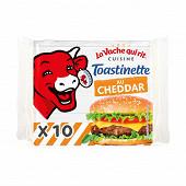 La vache qui rit toastinette x10 hamburger 200g
