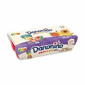 Danonino aromatisé aux fruits panaché 8x50g