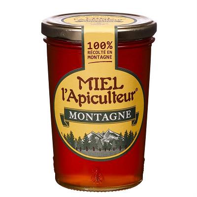 MIEL l'Apiculteur Miel l'apiculteur miel de montagne pot verre 500 g
