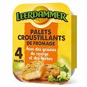 Leerdammer 4 palets croustillants fromage herbes et graines de courge 160g
