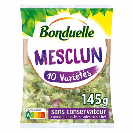 Bonduelle salade mesclun sachet 145g