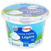 Cora crème fraîche légère épaisse 15% mg 497g/50cl