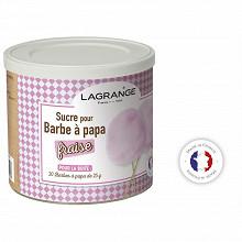 Lagrange sucres pour barbe à papa fraise 500g 380007