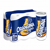 Orangina zero boites 6x33cl