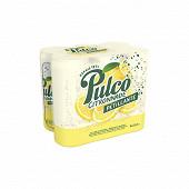 Pulco fines bulles citron boite slim 6x33cl