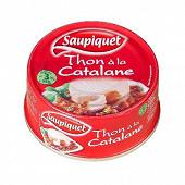 Saupiquet thon sauce catalane 1/3 252g