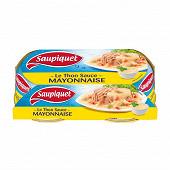 Saupiquet thon sauce mayonnaise 1/6 135g lot de 2