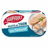 Saupiquet filets thon naturel 1/6 81g