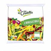 Les Crudettes salade l'Irrésistible sachet 200g