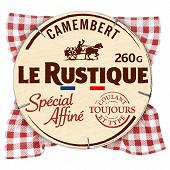 Le Rustique camembert spécial affiné 260g