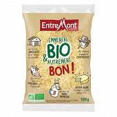 Entremont emmental rapé au lait pasteurisé bio sachet 31%mg 180g
