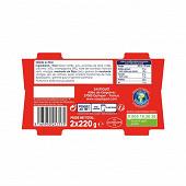 Saupiquet saladières parisienne 220 g 1/3 x 2