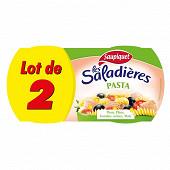 Saupiquet saladières pasta 220 g 1/3 x 2