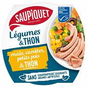 Salade mais et thon msc 160g saupiquet
