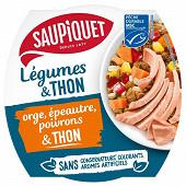 Salade orge et thon msc 160g saupiquet