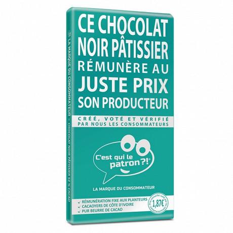 C'est qui le patron ?! chocolat noir pâtissier 52% 175g
