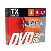 Tx pack de 3 dvd-rw boitier cristal